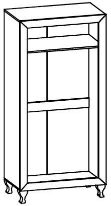 Шкаф 2Д