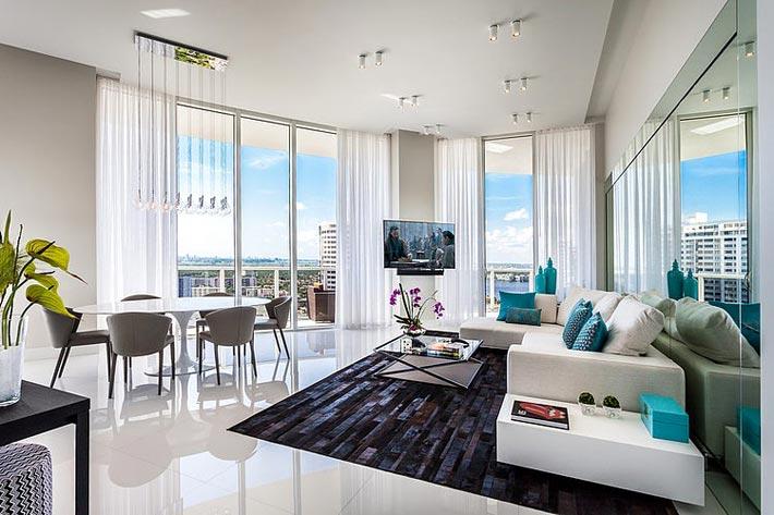 панорамные окна в интерьере квартиры