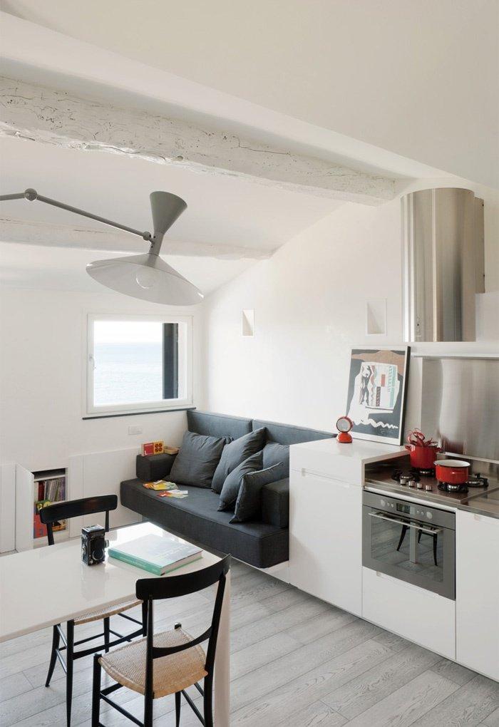 кухня-гостиная 11 кв м дизайн фото