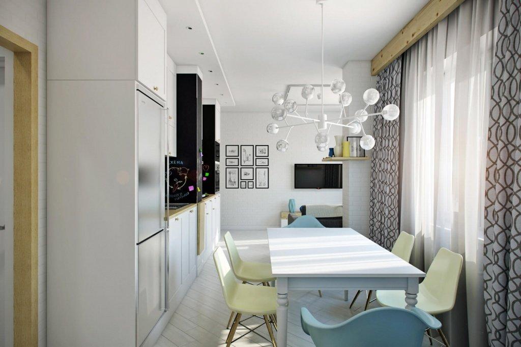 столовая зона на кухни