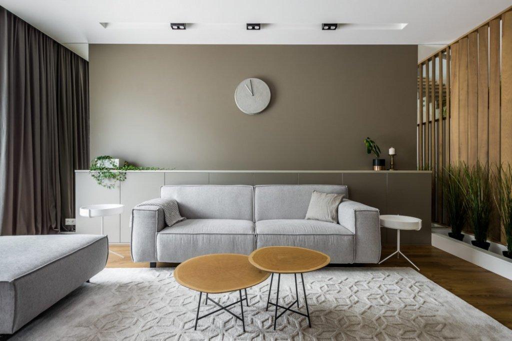 красивый дизайн интерьера для гостиной