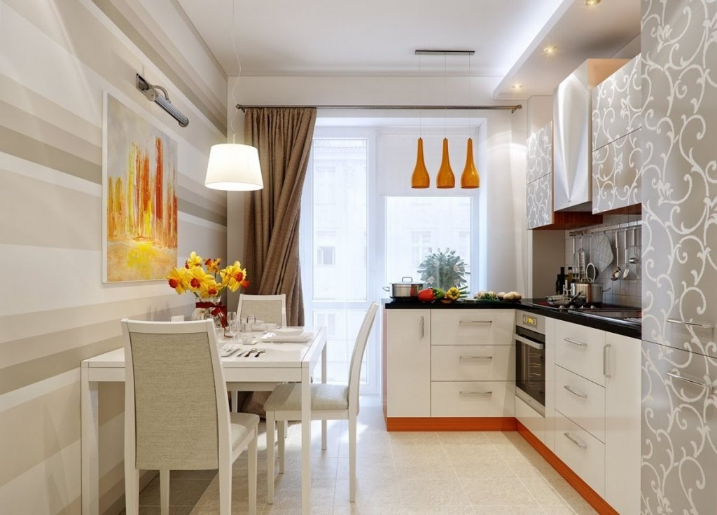 Дизайн кухни в квартире студии 2017 новинки