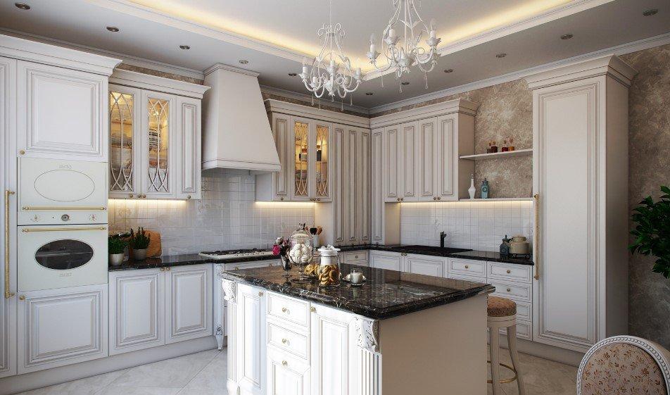 Угловая кухня в английском стиле купить вытяжные зонты для кухни