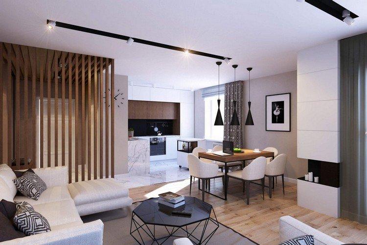 оригинальный интерьер квартиры студии