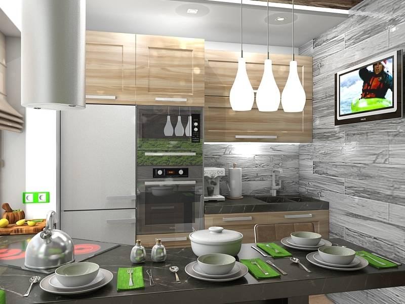 Дизайны эко кухонь