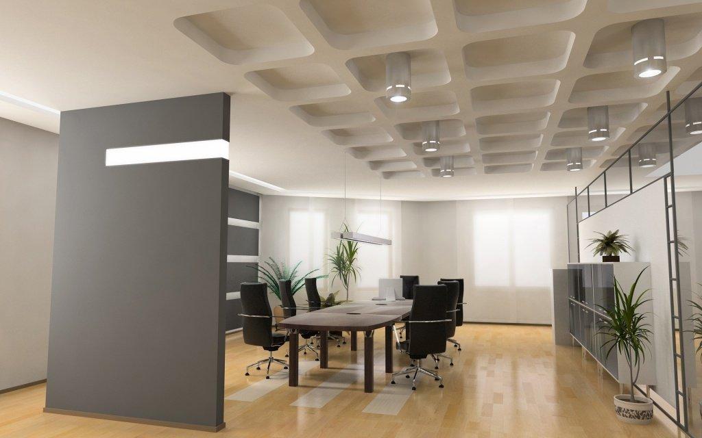 стиль модерн для оформления офиса