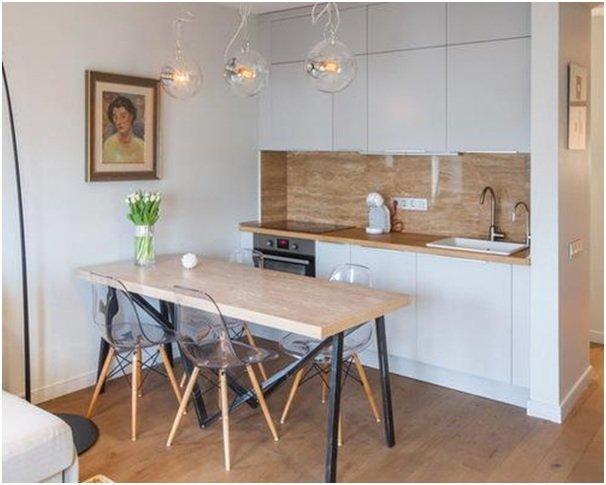 кухни в скандинавском стиле дизайн интерьера фото интернет