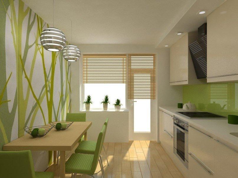 Дизайн кухни 11 кв.м. - 30 фото интерьеров.