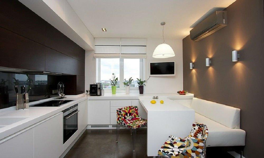 дизайн фото кухни 10 кв м